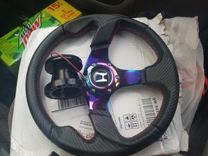 Steering wheel with hub for Sale in Alexandria, VA