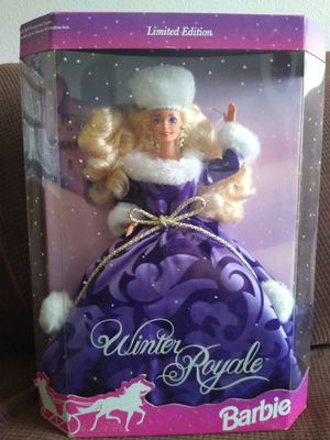 limited edition winter royale barbie for Sale in Fontana, CA