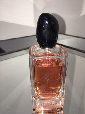 Giorgio Armani Si Eau de Parfum Spray, 3.4 oz for Sale in Atlanta, GA