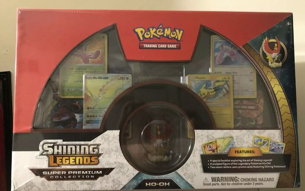 Pokemon TCG: Shining Legends Super Premium Ho-Oh Collection [Trading Card Game]