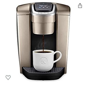 Keurig K-Elite in brushed gold - Perfect condition! for Sale in Tracy, CA