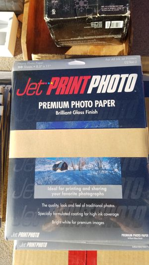 Premium photo paper jet print for Sale in Victorville, CA