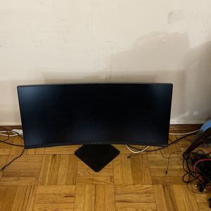 HP Omen X 35in Ultrawide Monitor 100hz W/ G-Sync for Sale in Brooklyn, NY