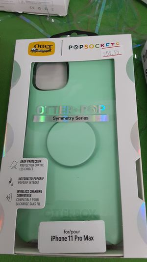 Otter box popsockets iPhone 11 Pro Max case for Sale in San Angelo, TX