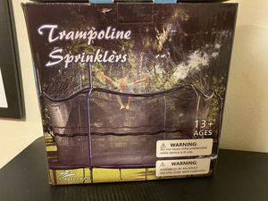 Jasonwell Trampoline SPRINKLER for Kids Outdoor for Sale in Paramount, CA
