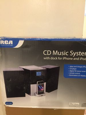 CD music system for Sale in Bronx, NY