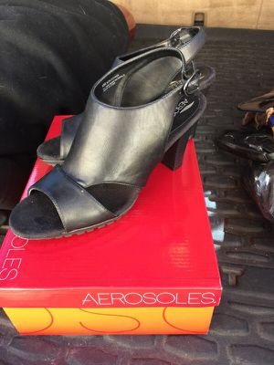 New Black leather aerosoles sz 8 for Sale in Denver, CO