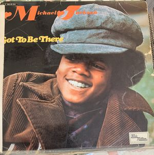 """1972 Michael Jackson """"Got to be There"""" vinyl for Sale in North Highlands, CA"""