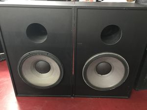 """Pair of jbl 18"""" high power subwoofer(8ohms) 1600 Watts for Sale in Nashville, TN"""