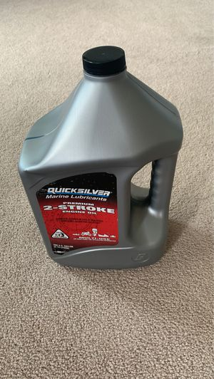 Quicksilver 2-Stroke Engine Oil for Sale in Lee's Summit, MO