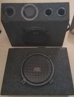 """MTX 10"""" speakers for Sale in Tracy, CA"""