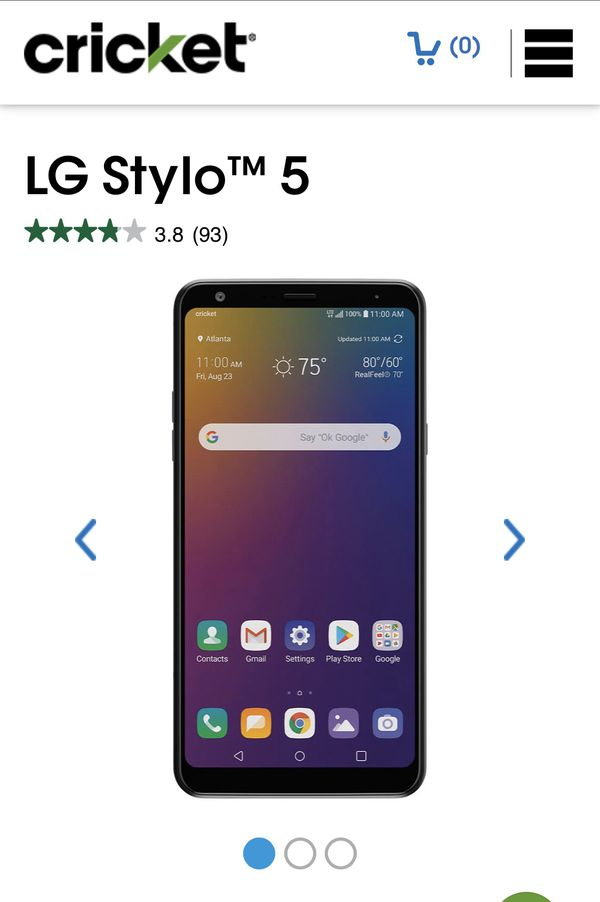 Lg stylo5 for free