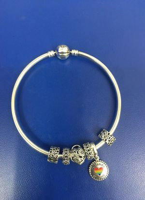 Pandora Bracelet w 4 charms for Sale in Orlando, FL