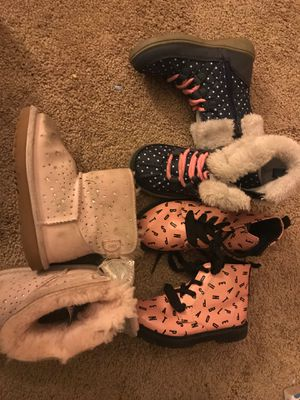 Girls boots for Sale in El Cajon, CA