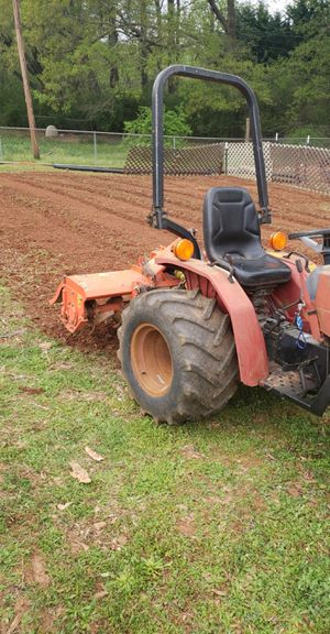 Garden tilling and tractor work for Sale in Anderson, SC