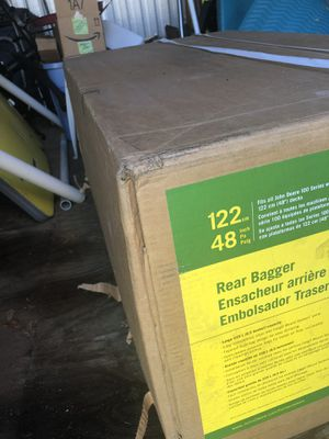 John Deere 48 grass catcher never opened for Sale in Anderson, SC