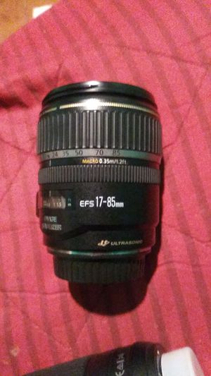canon efs17 -85mm for Sale in Long Beach, CA