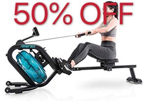 50% Off Water Rowing Machine Fitness Exercise for Sale in ROWLAND HGHTS, CA