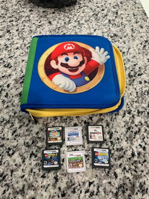 Nintendo Games and Case for Sale in Arlington, TX