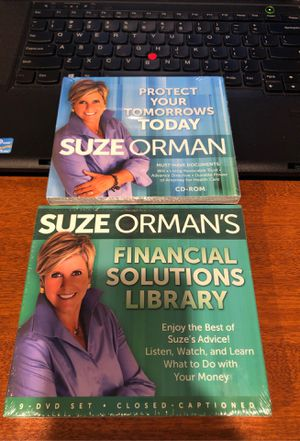 Both brand new dvd cd Suze Orman for Sale in Grand Rapids, MI