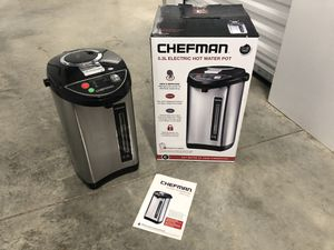 Chefman 5.3-Liter Instant Electric Hot Water Pot for Sale in Indianapolis, IN