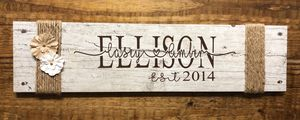 Personalized name tile/wood for Sale in Pineville, LA
