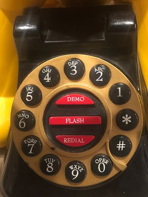 Vintage Disney's Pluto Table Top Animated Telephone for Sale in Dumfries, VA