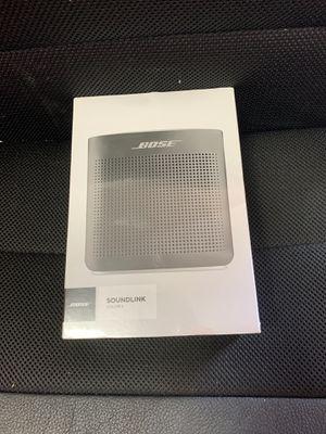 BOSE soundlink portable bluetooth speaker II-soft black for Sale in Pembroke Pines, FL
