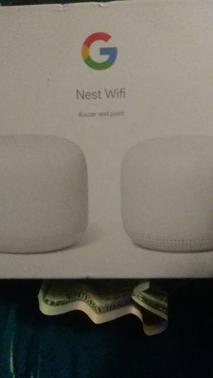 Google nest wifi router and point for Sale in Garden Grove, CA