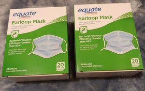 Equate Earloop Bacterial Antiviral Face Mask for Sale in Long Beach, CA