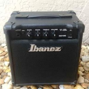 Perfect First Time Electric Guitar Practice Amp Ibanez 10G 10 Watt Guitar Amp $45 OBO for Sale in Pompano Beach, FL