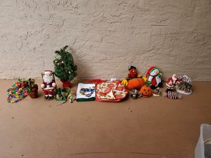 Holiday decorations box for Sale in Tampa, FL