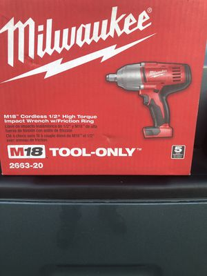 Milwaukee Impact Wrench for Sale in Modesto, CA
