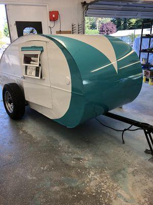 1950 Cub Cadet Teardrop Camper for Sale in BETHEL, WA