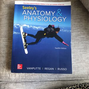 Seeley's Anatomy & Physiology for Sale in Redlands, CA