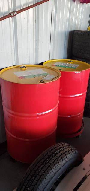 2 55 gallon drums new for fuel, or oil 100.00 for both {contact info removed} for Sale in Temecula, CA