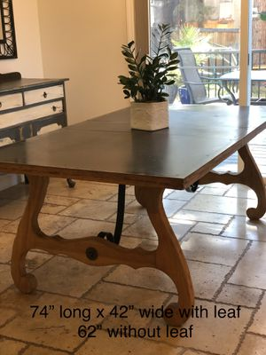 Farmhouse dining table for Sale in Bend, OR