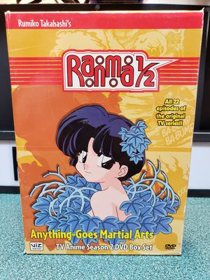 Ranma 1/2: Season 2 - Anything Goes Martial Arts for Sale in Perris, CA