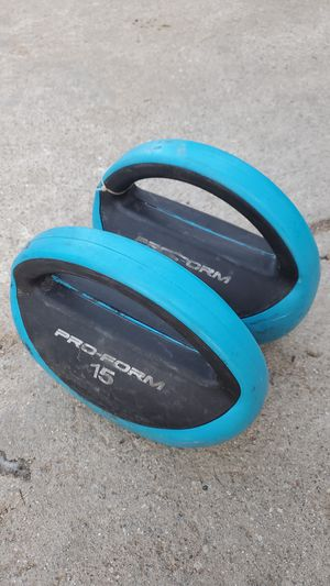 Work out weights for Sale in Riverside, CA