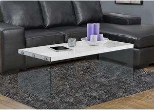 White gloss living room table for Sale in Henderson, NV