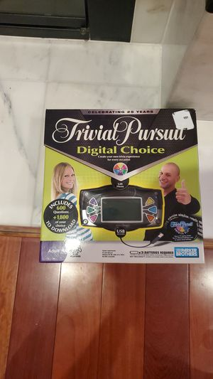 Trivial Pursuit Digital Choice for Sale in Irvine, CA