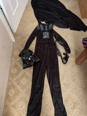 Boys Darth Vader Halloween Costume for 10 years old for Sale in Irwindale, CA