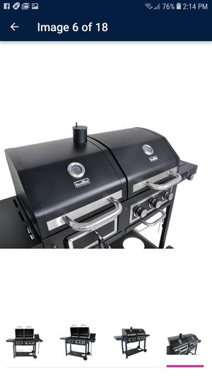 Full Size 3 Burner Gas Grill Side Burner Propane Home BBQ 30k BTU Barbecue Gift for Sale in Glendale, AZ
