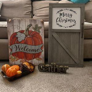 Seasonal decoration bundle for Sale in Clearwater, FL