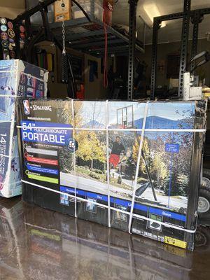 "NEW 54"" NBA BASKETBALL HOOP for Sale in Fontana, CA"
