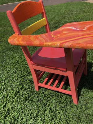 Custom painted desk for Sale in Affton, MO