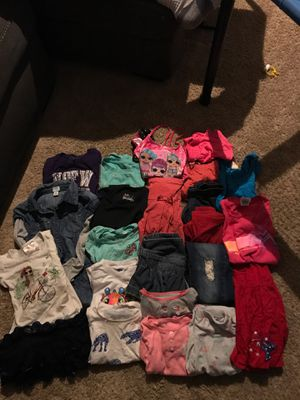 Large girls clothing lot - size 6-7 for Sale in Newcastle, WA