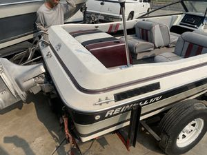 Reinel 18 ft omc 170 boats in good shape read the info for Sale in French Camp, CA