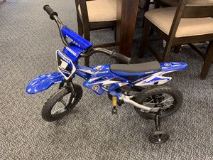 "New 12"" Blue & White Yamaha Bike for Sale in Virginia Beach, VA"