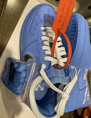 Air Force 1 Low Off-White MCA University Blue Size 8 for Sale in Frederick, MD
